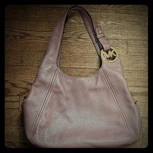Michael Kors Dusty Rose Large Slouchy Shoulder Bag